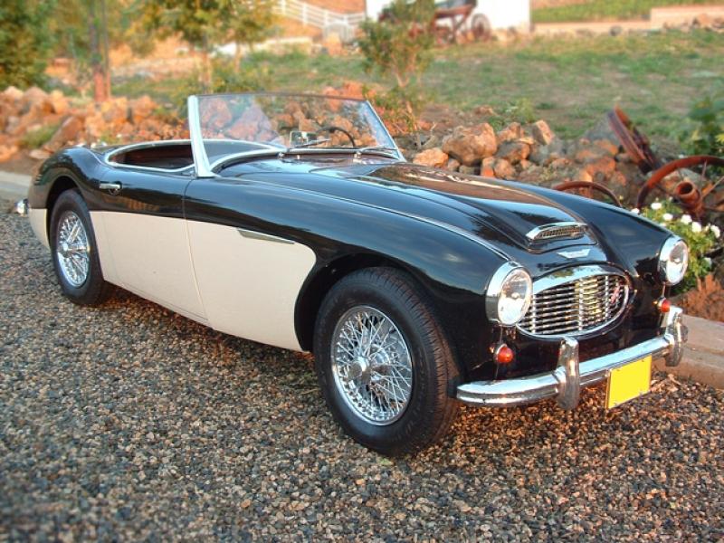 1960 austin-healey 3000 bn7 roadster m-1-