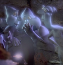 The ghostly trio from Casper 1995