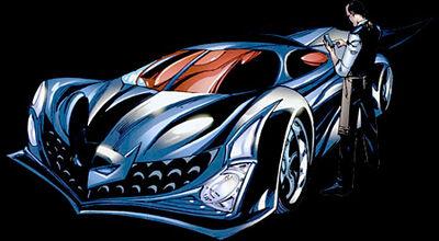 Batmobile 2009 (Battle for the Cowl 3)
