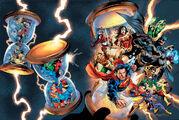 DC Universe Rebirth Vol 1 1 Wraparound Textless Variant