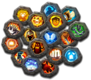 Crests icons