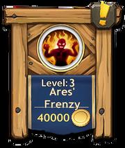Ares frenzy level3