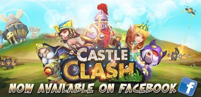 CastleClashFacebook