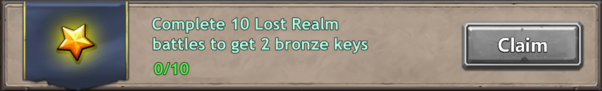 Lost realm quest