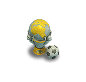 Decorative Soccer Star Trophy