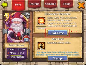 Santa with talent