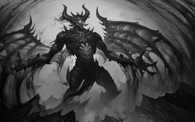 Monster darkness dead