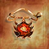 Flamestrike Amulet