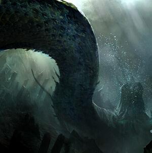 Serpent dead