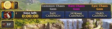Chaos Gem Campaign
