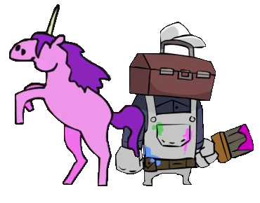 File:CC Unicorn and Painter Artwork.png