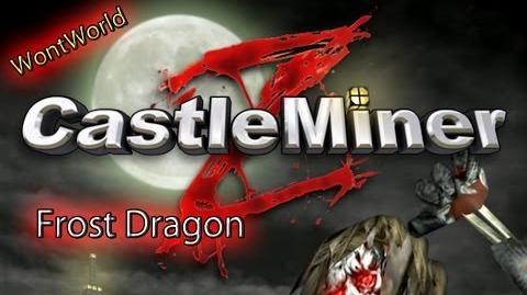 Castle Miner Z - Frost Dragon