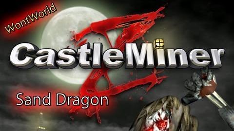 Castle Miner Z - Sand Dragon