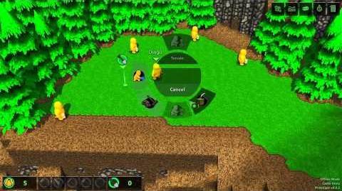 Castle Story - Gameplay Demo - Radial Menu