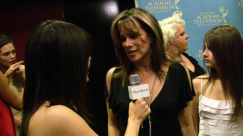 File:Nancy Lee Grahn, daughter, & Judalina 37th Daytime Emmy's Creative Arts & Entertainment Red Carpet.jpg