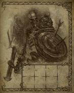 Skeleton Warrior Travel Book