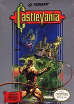 Castlevania NES box art