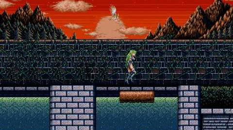 Rusty (Castlevania Clone) Level 7 Garden road (No Death)