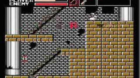 Akumajou Dracula Vampire Killer MSX2(stage 1)