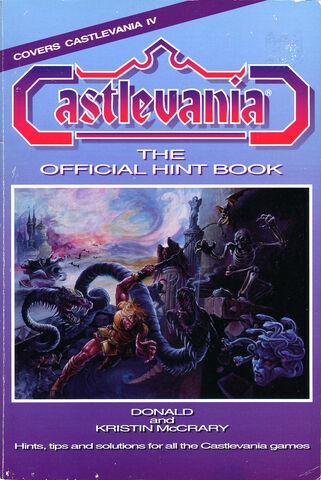 File:Castlevania Hint Book.jpg