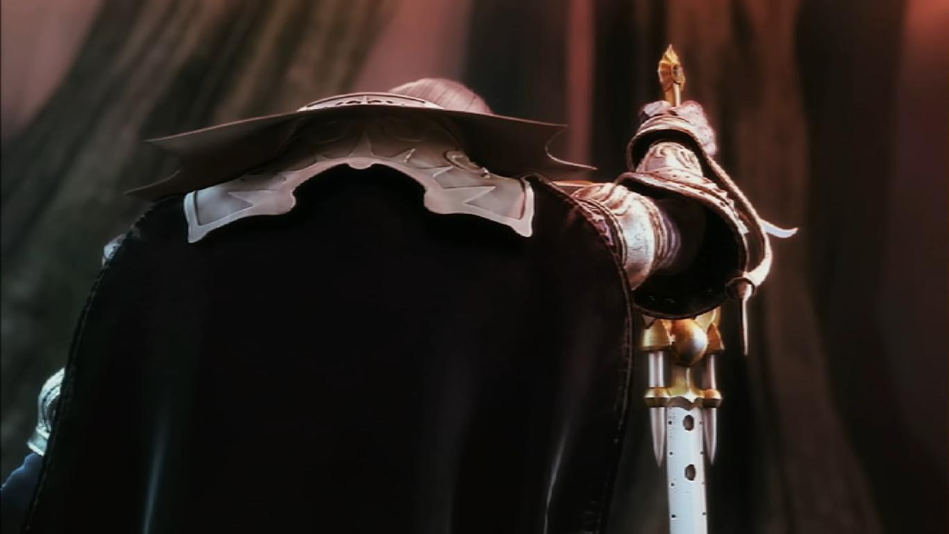 File:Judgment Intro 35 - Alucard Puts down Sword.JPG