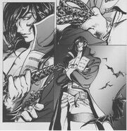 Richter in Artbook Manga