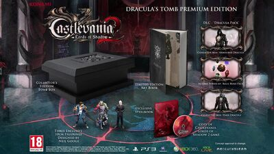 Los2-Draculas tomb premium edition new