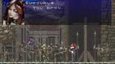 Castlevania SOTN Nightmare sequence