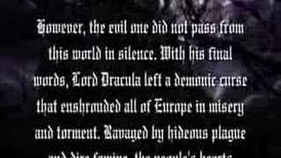 1. Curse of Darkness- Intro