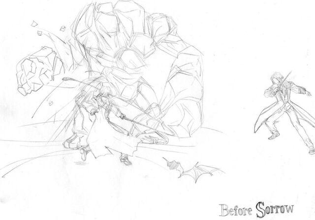 File:Julius Belmont vs Golem by Neo Beowulf.jpg