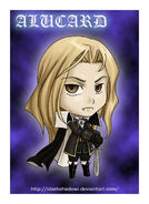 CHIBI COMMISION ALUCARD by IDarkShadowI