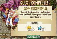 Gloom Vision Goggles reward
