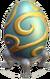 Giant Gilded Egg