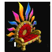 Flamboyant Seat