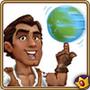 Rafael with Globe
