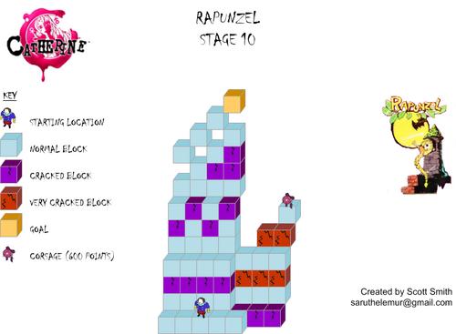 Map 10 Rapunzel