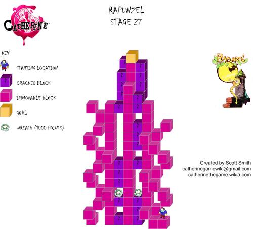 Map 27 Rapunzel