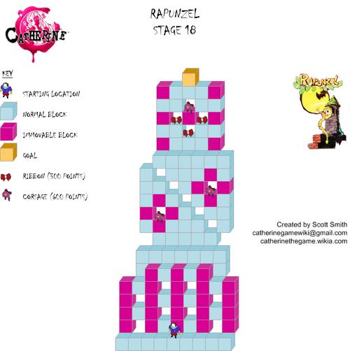 Map 18 Rapunzel