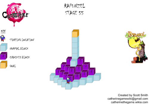 Map 55 Rapunzel