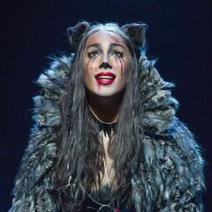 Leona Lewis as Grizabella, from People Magazine