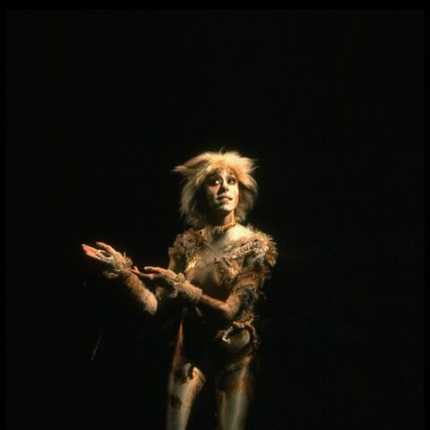 Bonnie Simmons as Jellylorum on Broadway, 1982