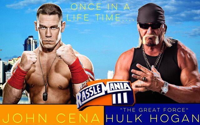 File:RassleMania 3 - Hulk Hogan vs John Cena.jpg