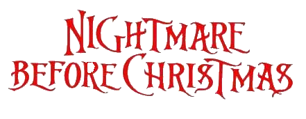 File:Nightmare Before Christmas Logo.png
