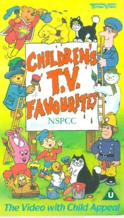 Children's TV Favourites - NSPCC