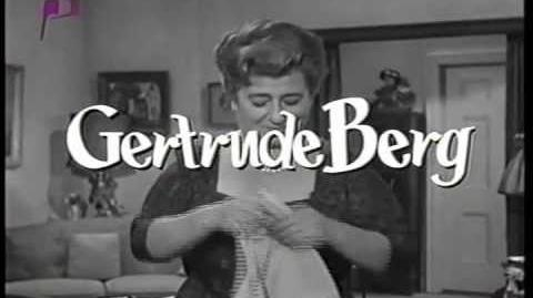 The Gertrude Berg Show Opening Credits