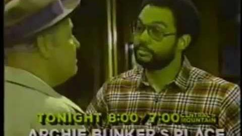 Archie Bunker's Place Promo (January 24, 1982)