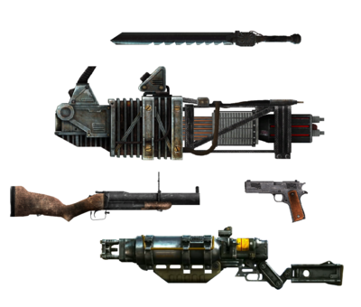 HK101's Weapons