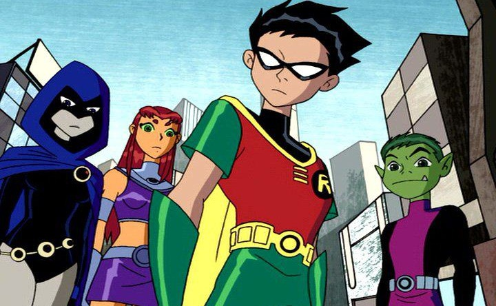Image Raven Starfire Robin And Beast Boy Hollywood