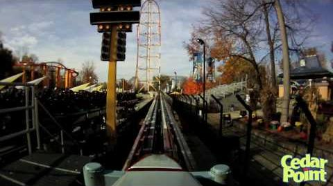 Top Thrill Dragster - POV