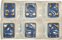 Starter studs in packaging